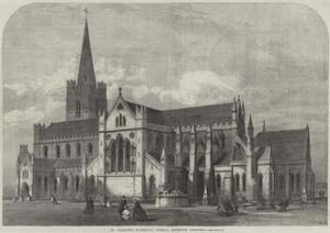 St Patrick's Cathedral, Dublin, Recently Restored by Frank Watkins