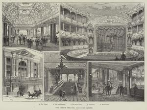 The Empire Theatre, Leicester-Square by Frank Watkins