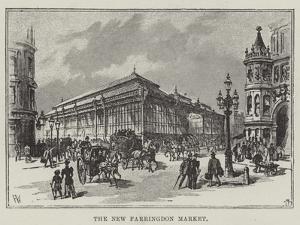 The New Farringdon Market by Frank Watkins