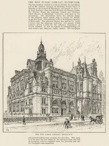 The New Public Library, Edinburgh by Frank Watkins