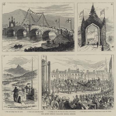 The Queen Opening Ballater Bridge, Deeside