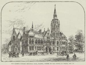 The Queen's Jubilee Memorial Hall, Ealing, Opened by the Prince of Wales, 15 December by Frank Watkins
