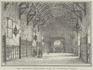 The Restored Parliament Hall in Edinburgh Castle by Frank Watkins