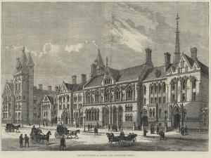 The Royal Courts of Justice, the Carey-Street Front by Frank Watkins