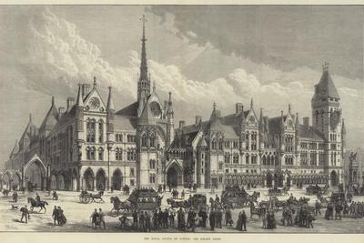 The Royal Courts of Justice, the Strand Front