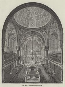 The West London Jewish Synagogue by Frank Watkins