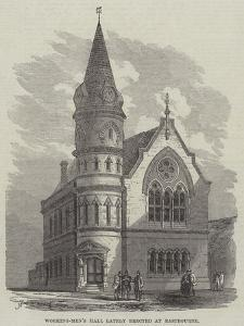 Working-Men's Hall Lately Erected at Eastbourne by Frank Watkins