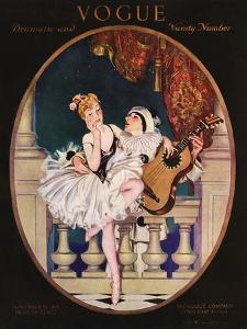 Vogue Cover - November 1913 by Frank X. Leyendecker
