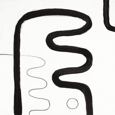 Black and White K by Franka Palek