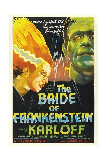 "Frankenstein Lives Again!, 1935, ""Bride of Frankenstein"" Directed by James Whale--Giclee Print"