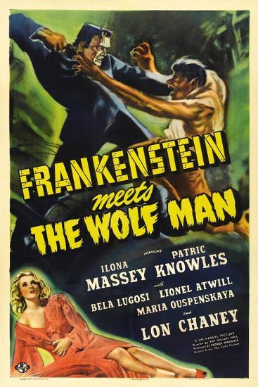 Frankenstein Meets the Wolf Man, 1943, Directed by Roy William Neill--Giclee Print