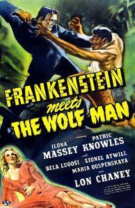 Frankenstein Meets the Wolf Man, 1943