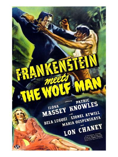 Frankenstein Meets the Wolf Man, 1943--Photo