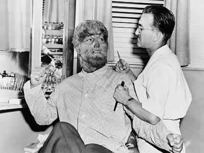Frankenstein Meets the Wolf Man, 1943--Photographic Print