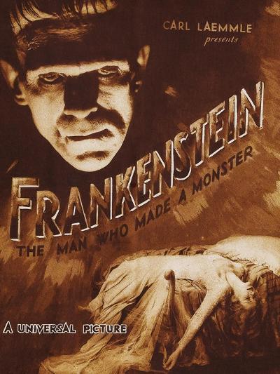 Frankenstein--Art Print