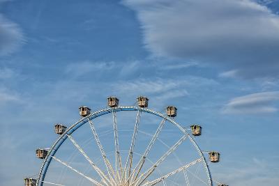 Frankfurt on the Main, Hesse, Germany, Ferris Wheel at the Frankfurt Spring Fair Dippemess-Bernd Wittelsbach-Photographic Print