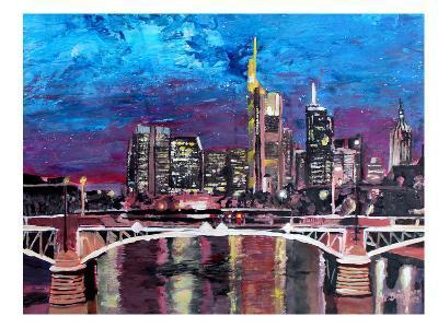 Frankfurt-M Bleichner-Art Print