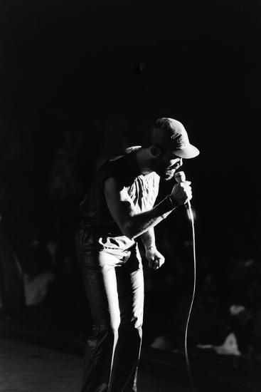 Frankie Beverly, 1983-Michael Cheers-Photographic Print
