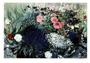 Scottish Flowers by Franklin Arbuckle