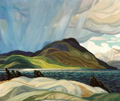 Lake Wabagishik by Franklin Carmichael