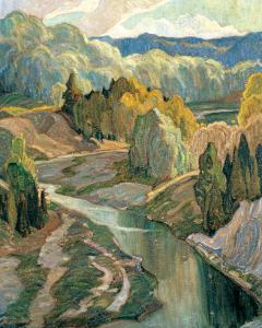 The Valley, c.1921 by Franklin Carmichael