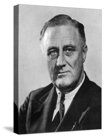 Franklin Delano Roosevelt 32nd President of the USA in the Year of His Election