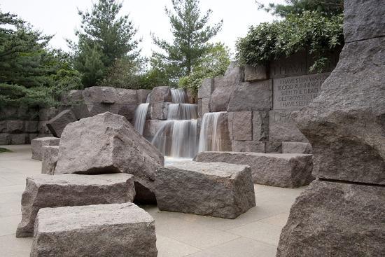 Franklin Delano Roosevelt Memorial, Washington, D.C.,--Photographic Print