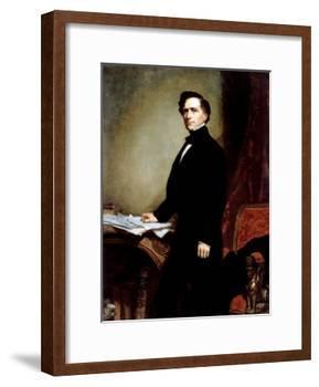 Franklin Pierce-George P.A. Healy-Framed Giclee Print