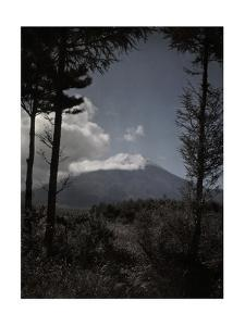A Vertical View of Mount Fuji by Franklin Price Knott