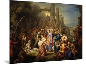 The Raising of Lazarus by Frans Christoph Janneck