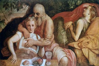 Lot and His Daughters, C1550