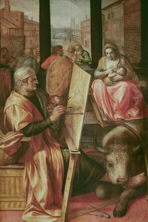 Saint Luke Painting the Virgin Mary