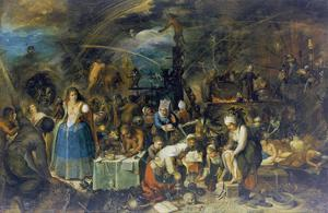 Gathering of Witches, 1607 by Frans Francken the Younger
