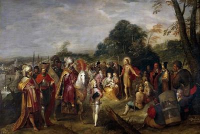 La predicación de San Juan Bautista, 1623