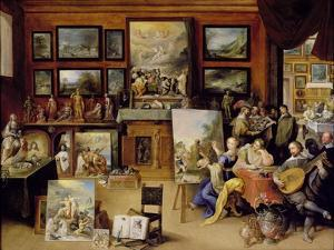 Pictura, Poesis and Musica in a Pronkkamer by Frans Francken the Younger