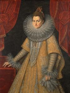 Portrait of Infanta Isabella Clara Eugenia of Spain (1566-163), C. 1598 by Frans Francken the Younger