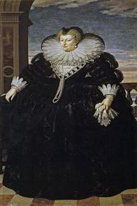 Portrait of Marie De Médici (1575-164) by Frans Francken the Younger