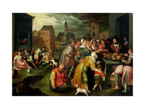 The Seven Acts of Mercy by Frans Francken the Younger