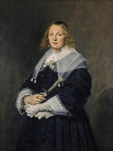 A Dutch Lady, C.1643-45 by Frans Hals