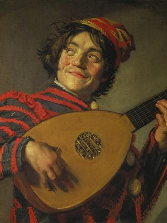 A Jester Playing the Lute, 1625