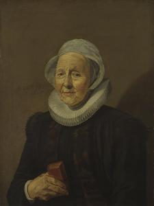 An Old Lady, 1628 by Frans Hals