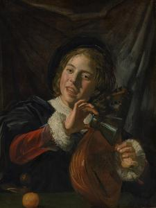 Boy with a Lute, c.1625 by Frans Hals