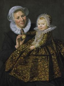 Catharina Hooft with Her Nurse, C.1619-20 by Frans Hals