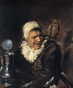Malle Babbe by Frans Hals