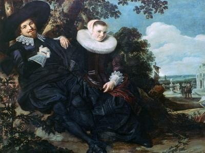 Married Couple in a Garden, C1622