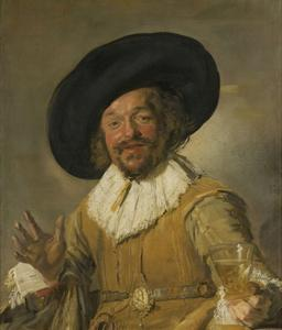 Merry Drinker, 1668-1630 by Frans Hals