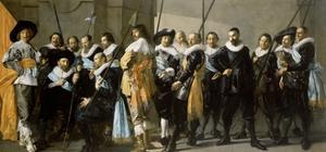 Militia Company of District XI under Command of Reynier Reael, Known as The Meagre Company, 1637 by Frans Hals