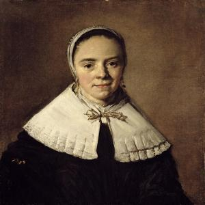 Portrait of a Young Woman by Frans Hals