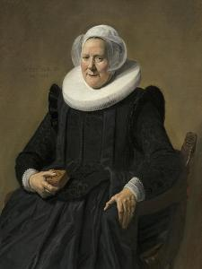 Portrait of an Elderly Lady, 1633 by Frans Hals