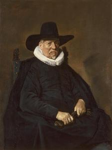 Portrait of an Elderly Man, Traditionally Called Heer Bodolphe, 1643 by Frans Hals